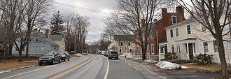 Francestown, New Hampshire - Main Street