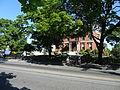 Franco American School viewed from across Pawtucket Street; southeast (front) side; Lowell, MA; 2012-05-19.JPG
