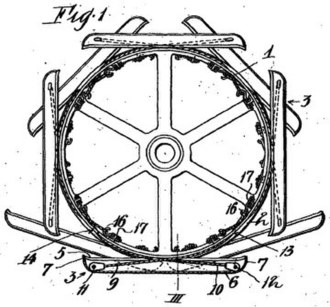 Frank Bottrill - Illustration from Bottrill's 1912 patent filing in the United Kingdom