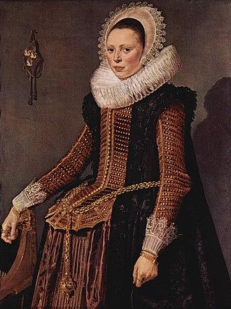 Stomacher - Image: Frans Hals 045
