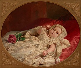 Prince Arthur William at Age Seven Weeks