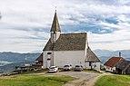 Frauenstein Lorenziberg Filialkirche hl. Laurentius N-Ansicht 21042020 8840.jpg