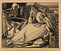 Frederick A. Sandys - Until her death - preparatory drawing for 'Good Words' - Google Art Project.jpg