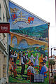 Fresque réalisée par l'artiste-peintre Éric Haven à L'Hôpital (Moselle) rue du Maréchal Foch..jpg