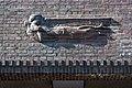 Friedhof Ohlsdorf (Hamburg-Ohlsdorf).Neues Krematorium.Bauschmuck.Kuöhl.Schwebender Engel mit betend erhobenen Händen.2.29622.ajb.jpg