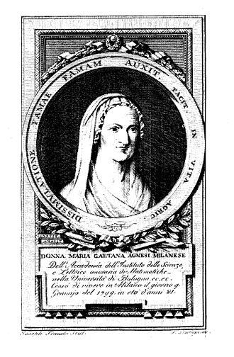 Antonio Francesco Frisi - Frisi wrote a biography