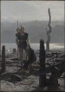 Frithiofs återkomst (ur Frithiofs saga) (August Malmström) - Nationalmuseum - 135357.tif