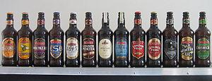 Fuller's Brewery - An assortment of Fuller's bottles