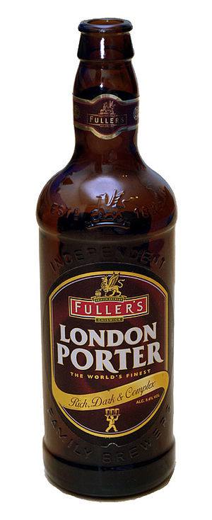 Porter (beer) - bottle of Fuller's London Porter