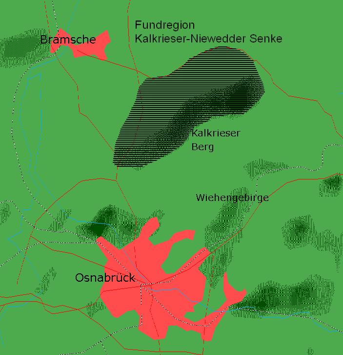 Fundregion Kalkrieser-Niewedder Senke