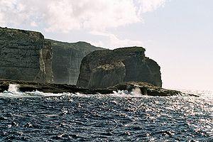Fungus Rock vor Gozo