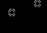 Strukturformel von Furfurylalkohol