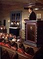 Gällivare gamla kyrka Gudstjänst för nomadskolans elever.jpg
