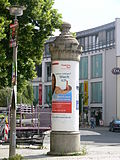 Advertising Column in Görlitz