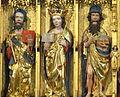 Güstrow Dom - Kreuzigungsaltar 3b Heilige obere Reihe.jpg