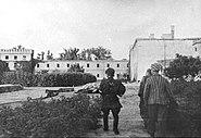 Gęsiowka Prison in Warsaw Patrol Giewonta (1944)