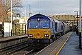 GBRf Class 66, 66751, Lea Green railway station (geograph 3818939).jpg