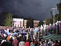 GMU Mason Votes Crowd watches Obama and Biden speak (2893300025).jpg