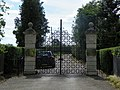 GOC Redbourn 121 Entrance gates to Childwick Bury Stud, St Michael (24183695691).jpg