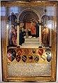 Gabella 42, guidoccio cozzarelli, presentazione di maria al tempio tra i santi girolamo e nicola di bari, 1484, 01.jpg