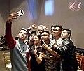 Gaeel junto a otros artistas y en evento con fines de lucro.jpg