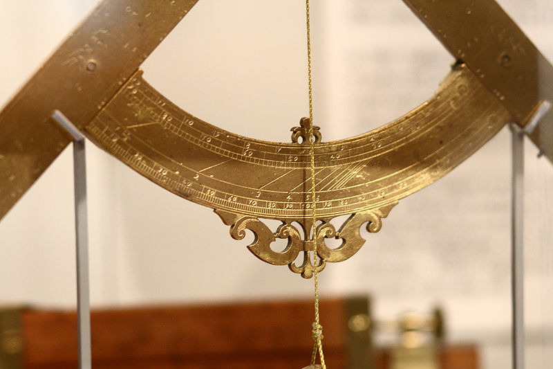 File:Galileo's geometrical and military compass in Putnam Gallery, detail 1, 2009-11-24.jpg