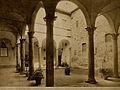Galileo Galilei; courtyard of Villa del Gallo, once Galileo' Wellcome V0018711.jpg