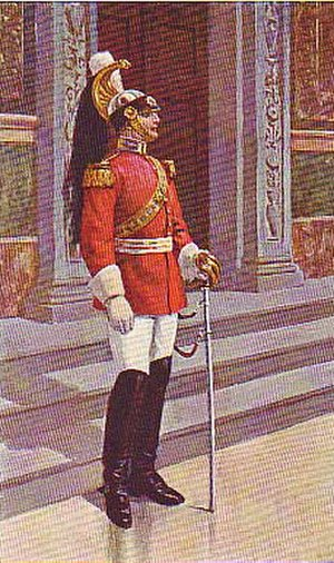 Noble Guard (Vatican) - Noble Guard in dress uniform