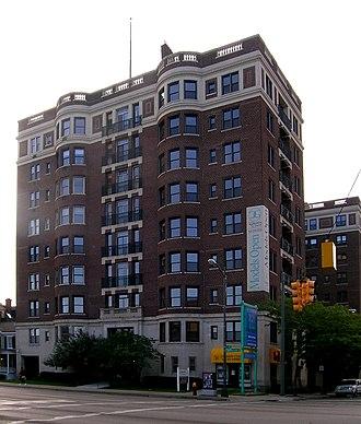 Garden Court Apartments (Detroit, Michigan) - Image: Garden Court Apartments Detroit MI