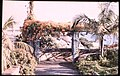 Garden in Madeira (Probably Reid's Hotel), with Pathway and Trellis, by Sarah Angelina Acland, c.1910.jpg