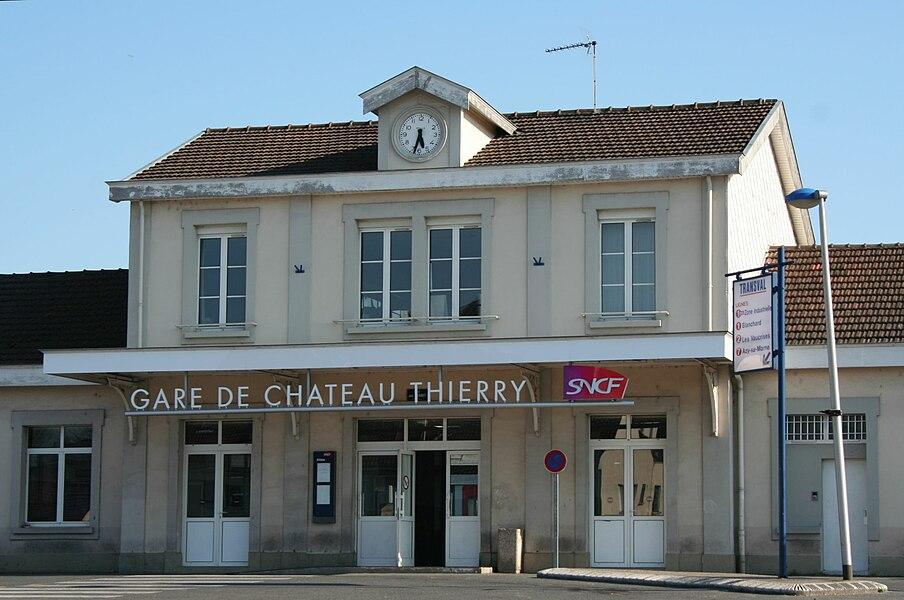 Château-Thierry Station, Aisne, France