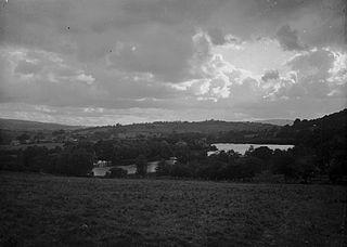 Garth lake, Garth, Llangammarch Wells