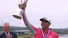 File:Gary Woodland sinks birdie to win the tournament - 2019 U.S. OPEN.webm