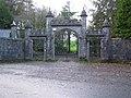 Gate entrance near Drumnolan - geograph.org.uk - 628271.jpg