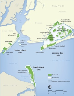 Gateway National Recreation Area parks and beaches in New York City and New Jersey