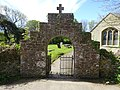 Gateway to St Ceinwen's Church, Llangeinwen, Ynys Mon, Wales 02.jpg