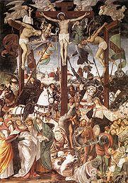 gaudenzio ferrari crucifixion fresco s maria delle grazie varallo sesia