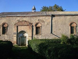 Diocese of Armavir - Image: Geghakert S. Harutyun Church 13th c. (south)