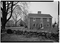 General view, to north - John Adams Birthplace, 133 Franklin Street, Quincy, Norfolk County, MA HABS MASS,11-QUI,6-2.tif