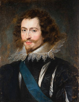 George Villiers, 1st Duke of Buckingham - Portrait by Peter Paul Rubens, 1625