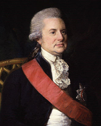 George Macartney, 1st Earl Macartney - Portrait of Lord Macartney by Lemuel Francis Abbott.