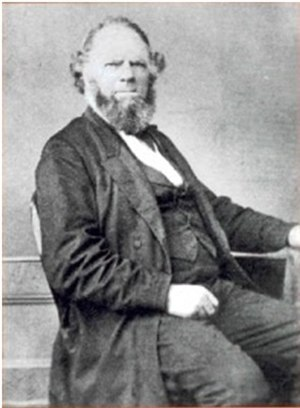 George Myers (builder) - George Myers in the 1860s