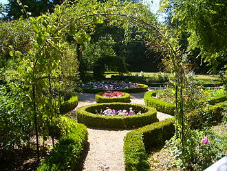 House of George Sand - The garden of George Sand