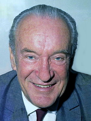 George Sanders - A photograph of Sanders by Allan Warren, 1972