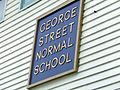 George Street Normal School sign.jpg