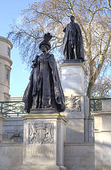 George VI and Queen Elizabeth Memorial