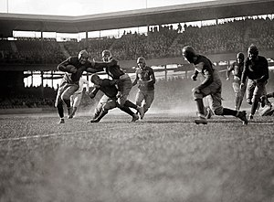 Georgetown Hoyas football - Georgetown versus Quantico Marines in 1923