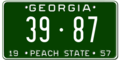 Georgia license plate 1957 graphic.png