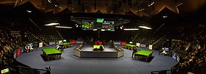 2015 German Masters - Image: German Masters 2015 Venue Pan 2 (Lez Franiak)