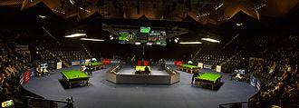 2015 German Masters - Image: German Masters 2015 Venue Pan 2 (Lez Franiak)
